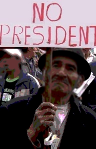 <small>D'après Ecuador, Une politique au-delà de l'utopie, film de Jacques Sarazin</small>
