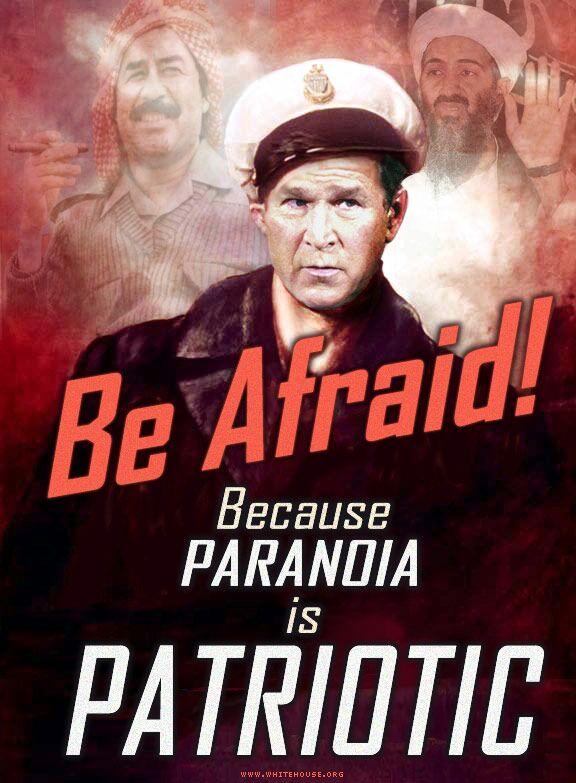 """Paranioa is patriotic, ou """"Patriotes du monde entier, tapez-vous dessus !"""""""