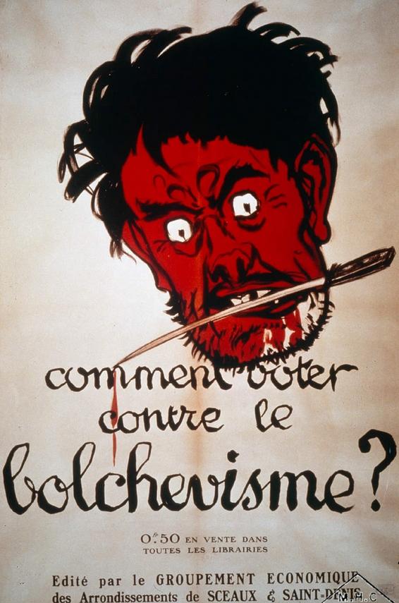 voter contre le bolchevisme