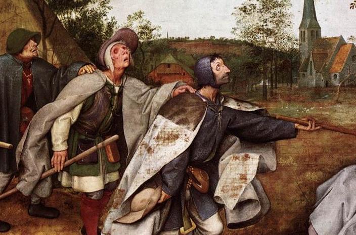 La parabole des aveugles - Brueghel