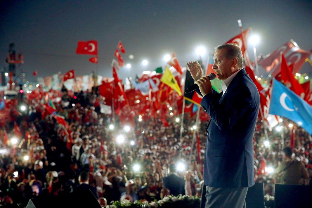 Erdogan et son peuple